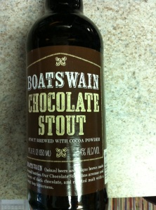 Boatswain Choc Stout Label