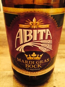 Abita Mardi Gras bottle